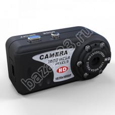 Шпионская видеокамера HD 1080p с ночной подсветкой Q7N